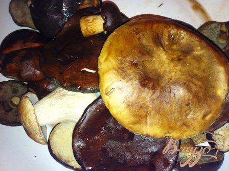 Соус грибной с картошечкой