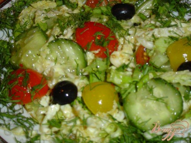 Рецепт Салат овощной ассорти