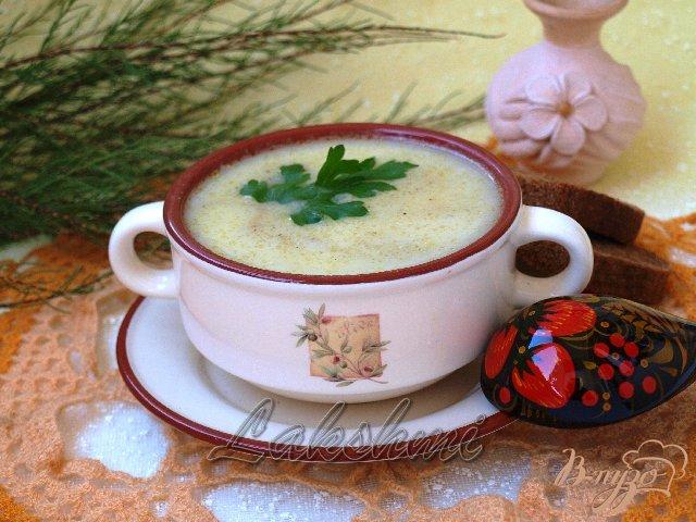 Фото приготовление рецепта: Крем-суп из кабачков шаг №4