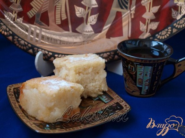 Рецепт Басбуса - арабская сладость