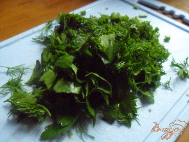 Фото приготовление рецепта: Салат с языком