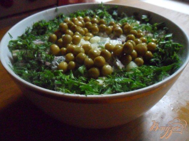 фото рецепта: Салат с языком