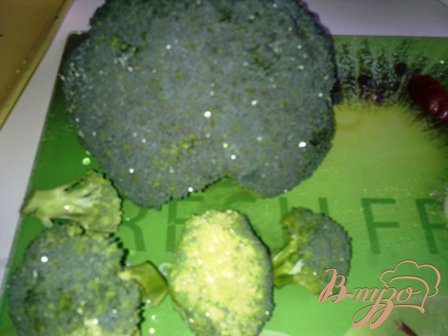 Суп-пюре из брокколи и сыра