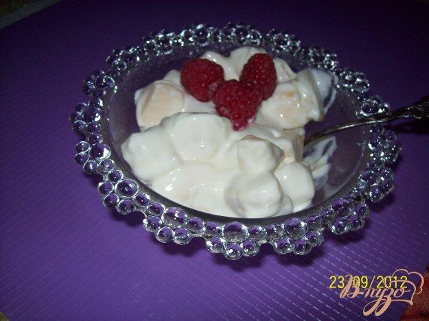 Рецепт Творожно-фруктовый десерт.