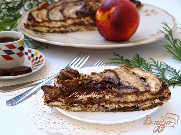 Рецепт Десерт из баклажанов с рикоттой и шоколадом