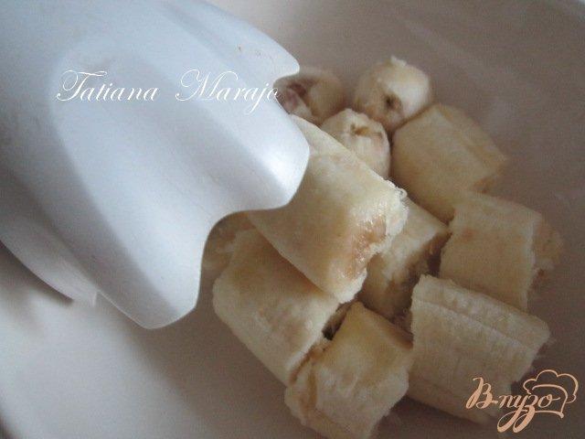 Фото приготовление рецепта: Горячий  банановый шоколад шаг №2