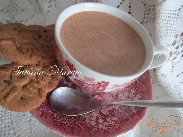 Фото приготовление рецепта: Горячий  банановый шоколад шаг №5