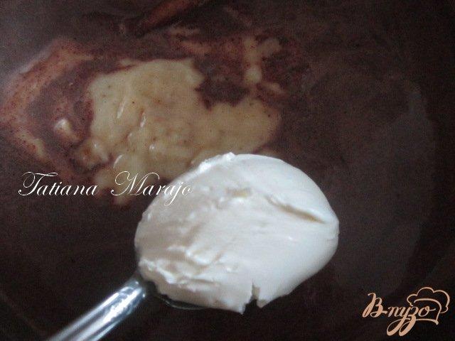 Фото приготовление рецепта: Горячий  банановый шоколад шаг №3