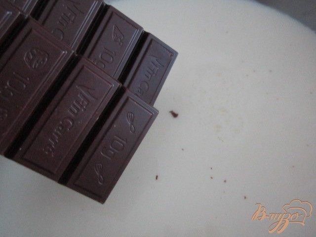 Фото приготовление рецепта: Горячий  банановый шоколад шаг №1