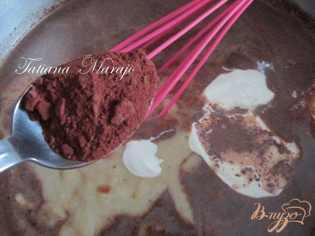 Фото приготовление рецепта: Горячий  банановый шоколад шаг №4