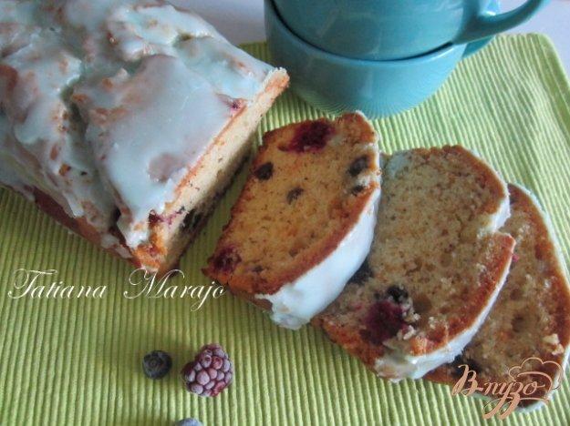 Рецепт Чайный кекс с ягодами