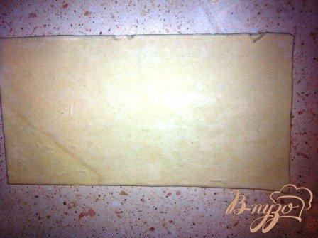 Сытные слоечки с ветчиной и сыром