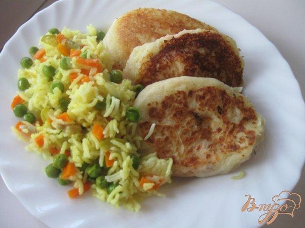 Рецепт Картофельные зразы с семгой
