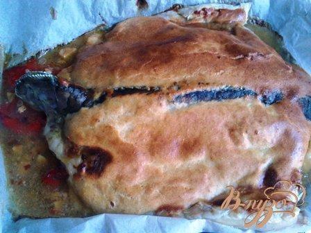 Рецепт Запеченный карп с корочкой