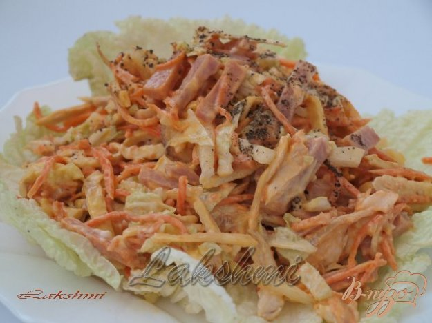 Рецепт Вкусный салат «Анастасия»