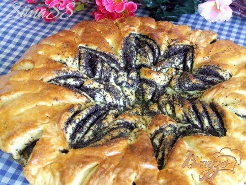 Пирог «Праздничный» с маком