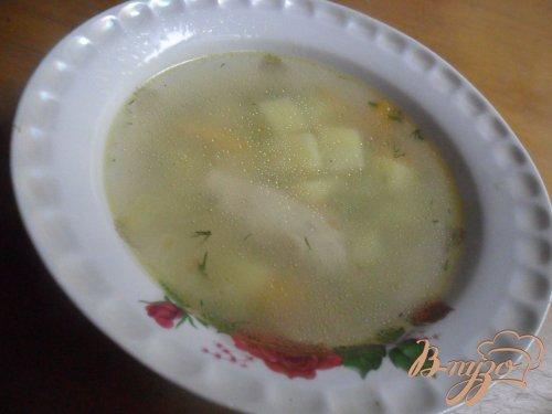 """Куриный суп """"Джунгли"""""""