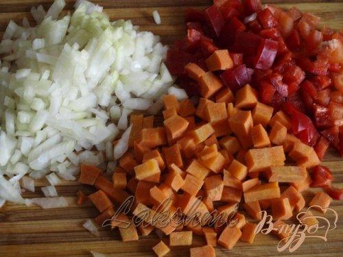 Куриный террин с овощами