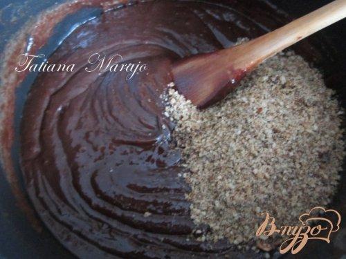 Шоколадная паста с лесными орехами