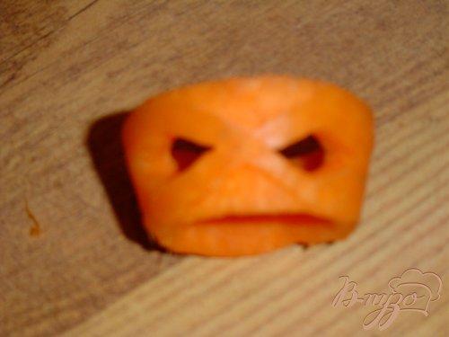 Кольца для салфеток из моркови