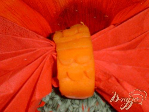 Кольца для салфеток из моркови - 2