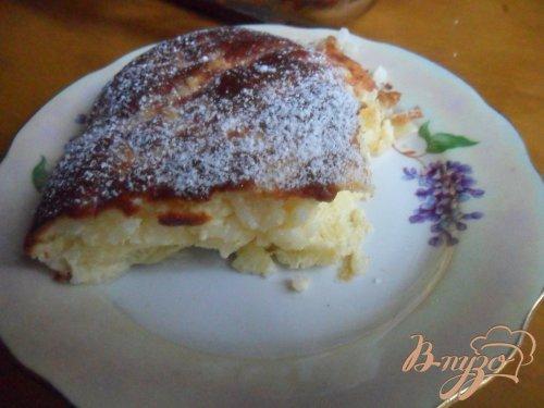 Рисовый пудинг с яблоками и корицей