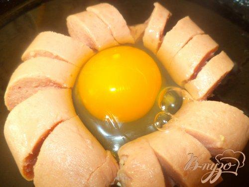 Легкая закуска из сосисок