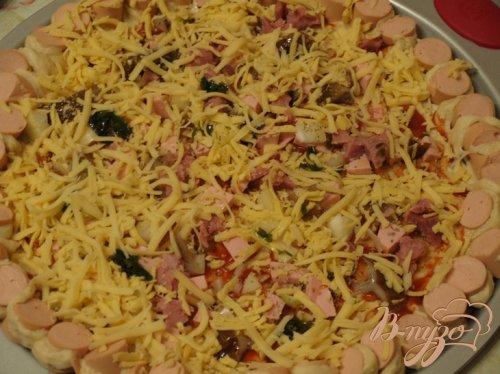 Пицца с сытным краешком