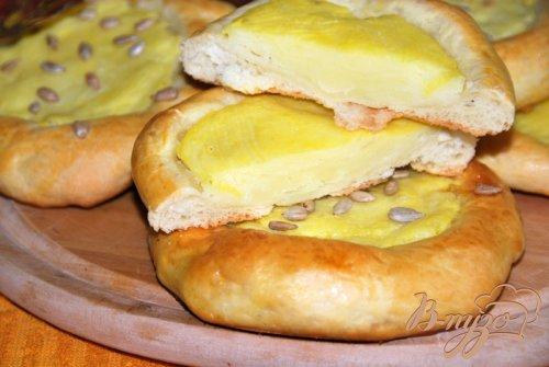 Уральские шаньги с картошкой