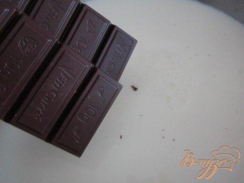 Горячий  банановый шоколад