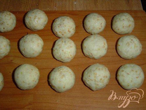 Сладкие картофельно-кунжутные шарики