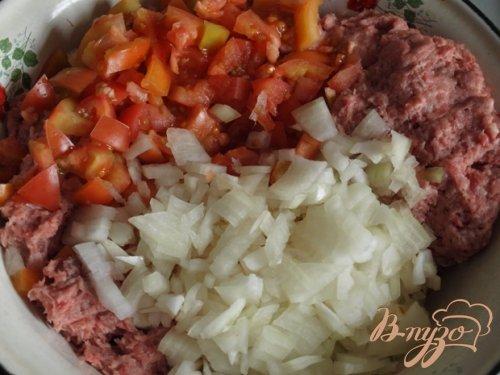 Мясная запеканка с овощами