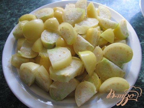 Варенье из физалиса и яблок