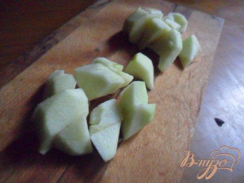 Пшённая каша с яблоком