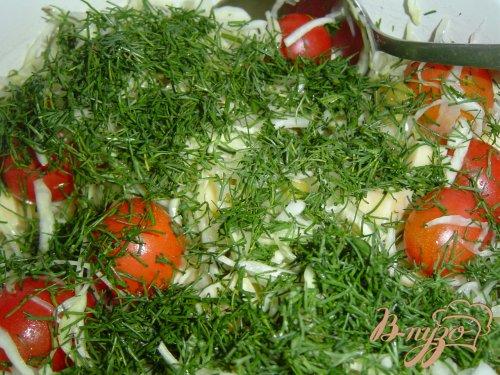 Запеканка с капустой,сыром, зеленым горошком