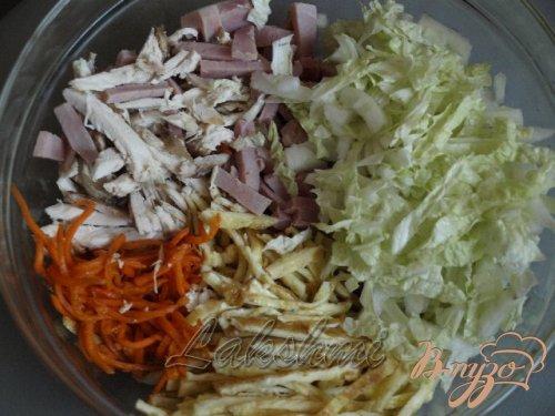 Вкусный салат «Анастасия»