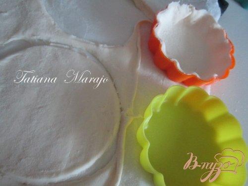 Слоеные тарталетки с инжиром