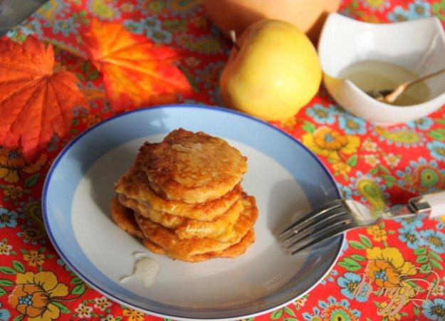 Рецепт Тыквенно-яблочные оладьи