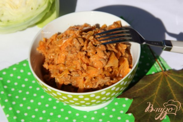 фото рецепта: Айнтопф с капустой и фаршем
