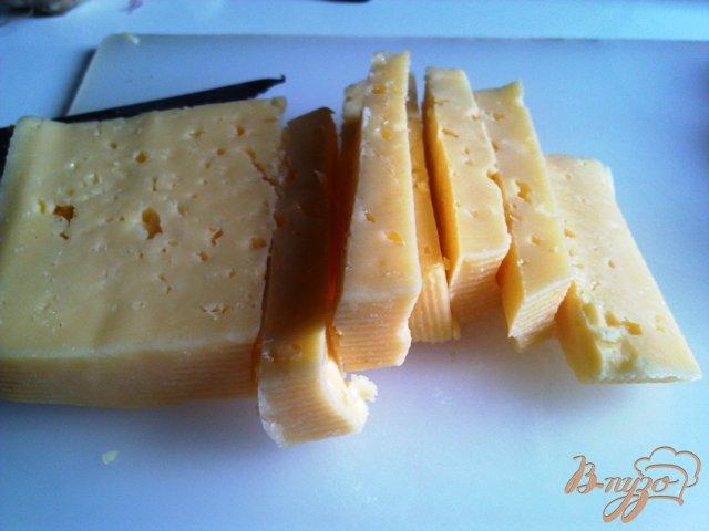 Фото приготовление рецепта: Полосатое куриное филе с соусом шаг №8