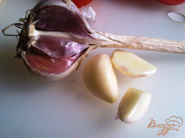 Фото приготовление рецепта: Полосатое куриное филе с соусом шаг №4