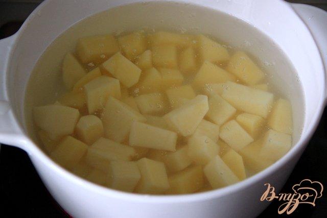 Фото приготовление рецепта: Восточный суп с фаршем шаг №2