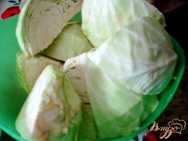 Фото приготовление рецепта: Рецепт квашеной капусты шаг №1