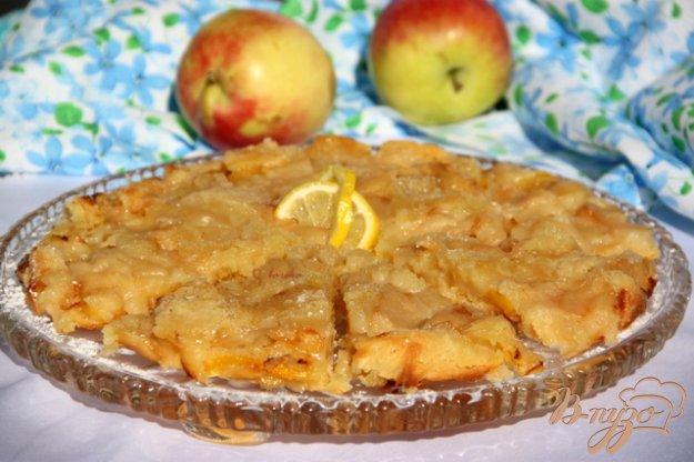 Рецепт Шведский заварной яблочный пирог