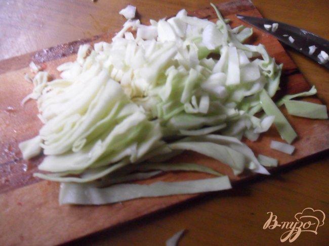 Фото приготовление рецепта: Суп мясной с болгарским перцем