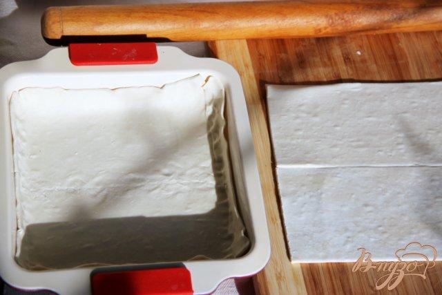 Фото приготовление рецепта: Быстрый пирог с тыквой и голубым сыром шаг №1