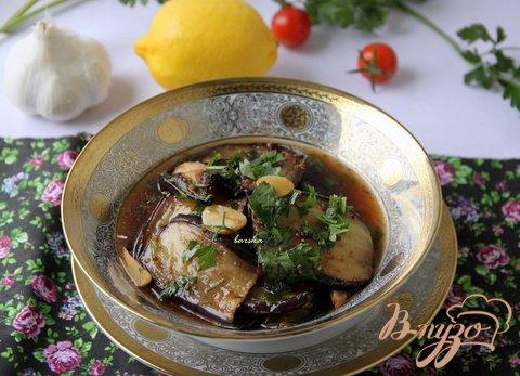 Рецепт Баклажаны в лимонно-медовом соусе