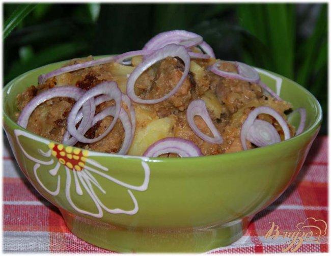 Фото приготовление рецепта: Оджахури или свинина по-домашнему шаг №10