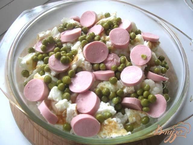 Фото приготовление рецепта: Запеканка из цветной капусты