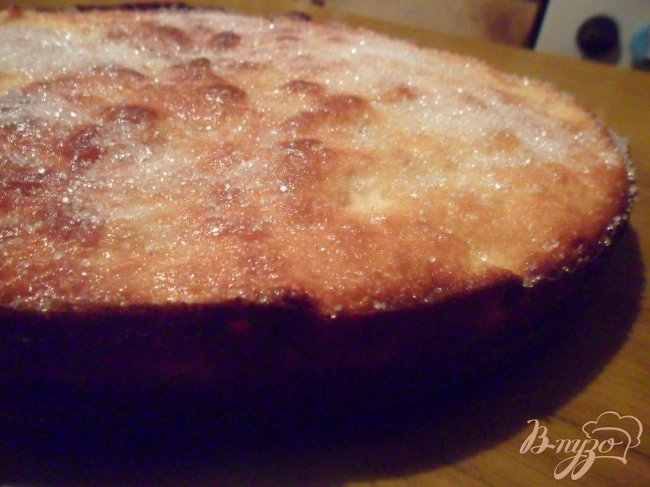 Фото приготовление рецепта: Яблочно-кокосовый пирог шаг №7